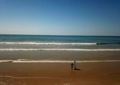 La grande plage de sable fin de St Jean de Monts