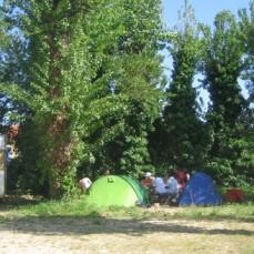 Les emplacements toile de tente