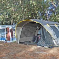 La cohabitation tente et caravane