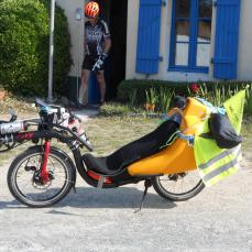 Un camping aux abords de la Vélodyssée