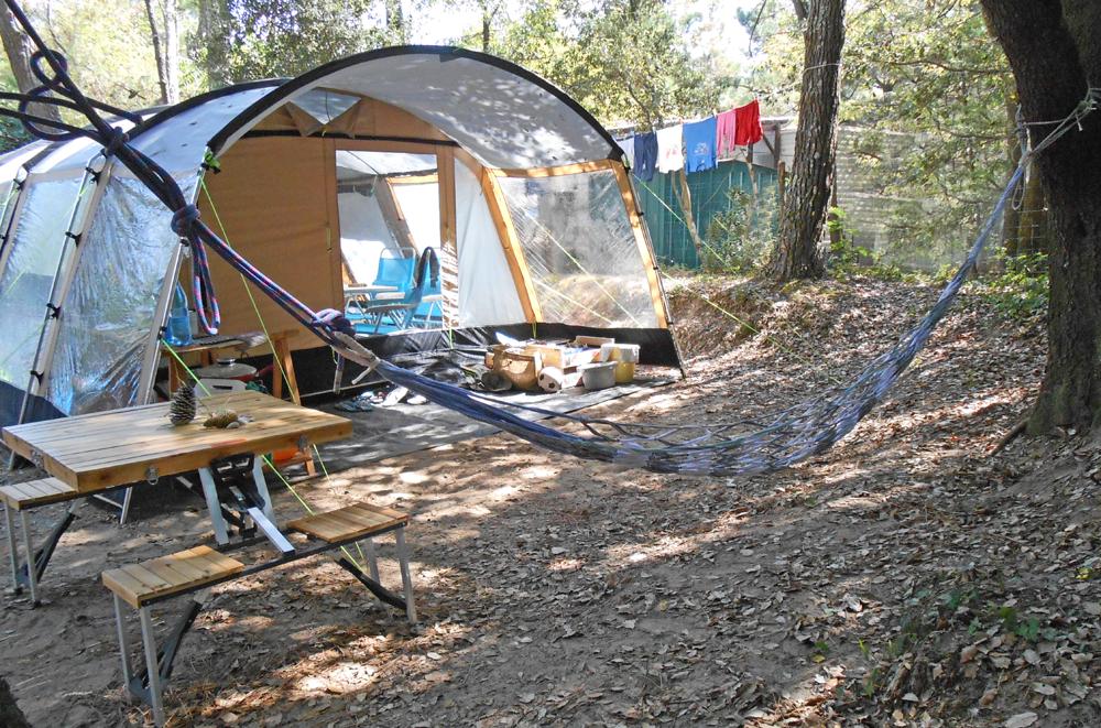 Camper dans la nature