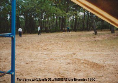 Partie de foot dans les années 1980