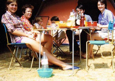 Déjeuner dans les années 1970