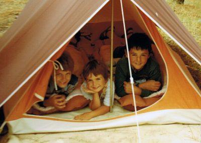 Tente «Canadienne» des années 70