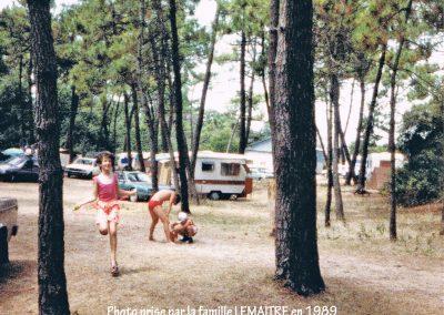 Jeux d'enfants en 1989