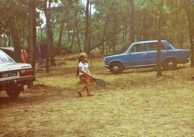 Jeux d'enfants dans les années 80