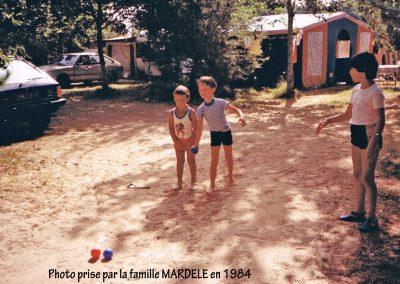 Jeux d'enfants en 1984