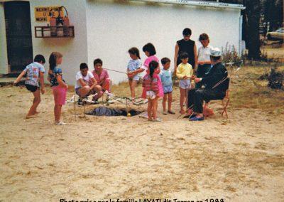 Pêche à la ligne en 1988